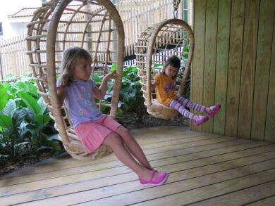 Chatting In The Swing | ELC The Country School International School Bangkok