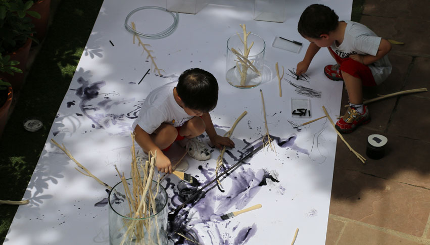 Elc Atelier Of Nature Exploring Materials | City School International School Bangkok