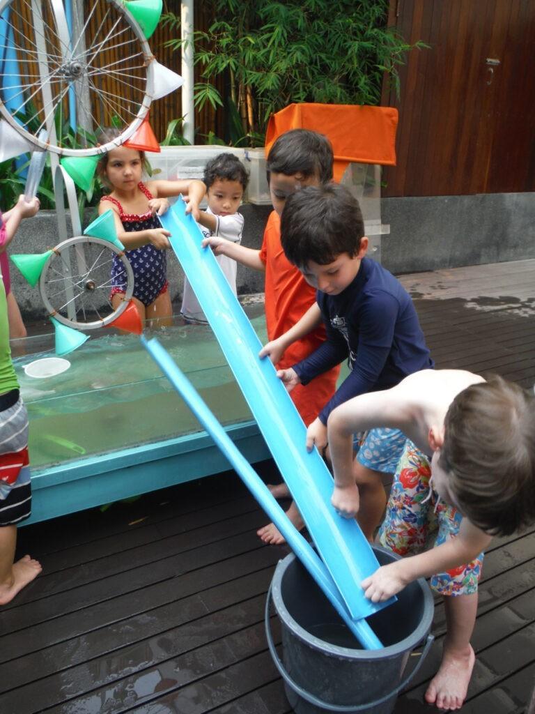 Elc Atelier Of Water Constructing| City School International School Bangkok