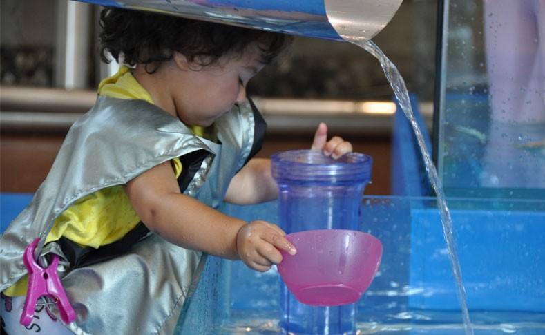 Elc Atelier Of Water Measuring With Water | City School International School Bangkok