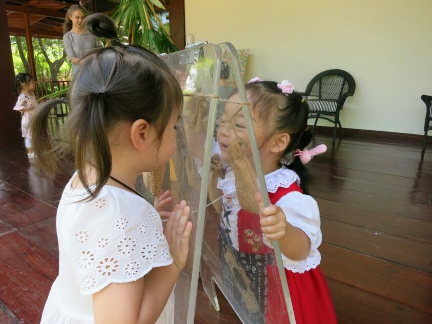 Meeting A Friend | Purple Elephant 49 International School Bangkok