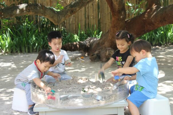 Playing In The Sand | Elc Purple Elephant 39 International School Bangkok