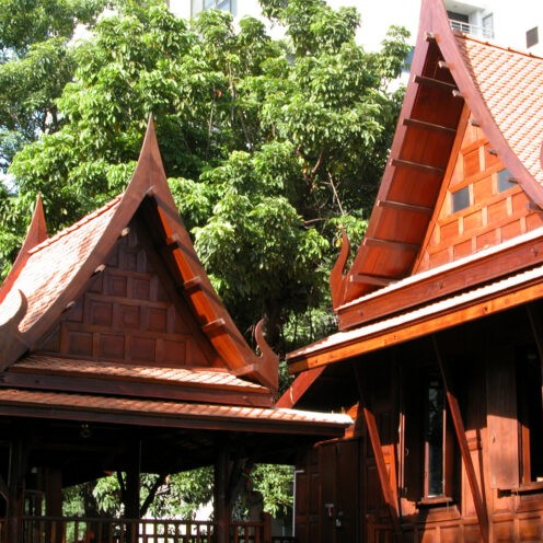 Thai House Roof