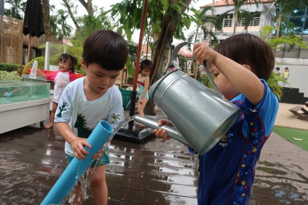 Water Play | The Country School International School Bangkok
