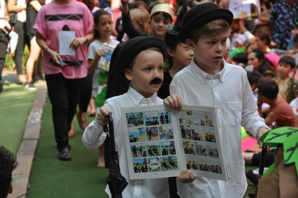 book parade - ELC - International School Bangkok